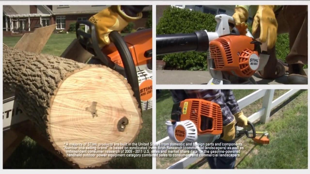 Stihl SH 86 C-E Shredder Vac/Blower TV Spot - Screenshot 2