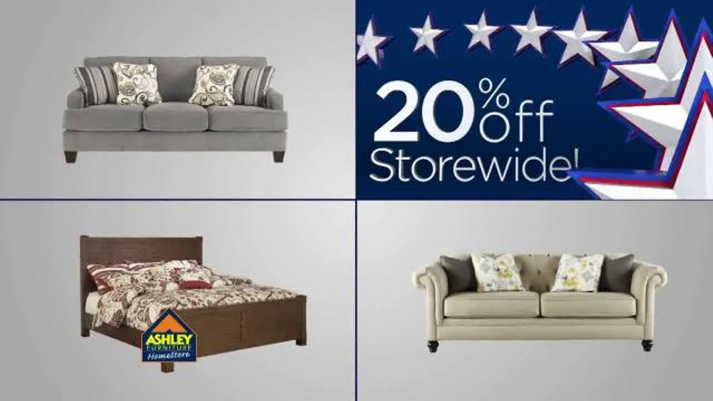 Ashley Furniture Homestore Labor Day Event Tv Commercial 39 20 Off Storewide 39