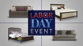 Ashley Furniture Homestore Labor Day Event TV Spot, '20% Off Storewide'