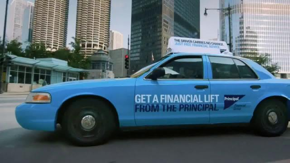 Principal Financial Group TV Spot, 'Free Cab Rides and Financial Advice'