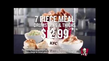 KFC 7-Piece Meal TV Spot, 'Think Twice'