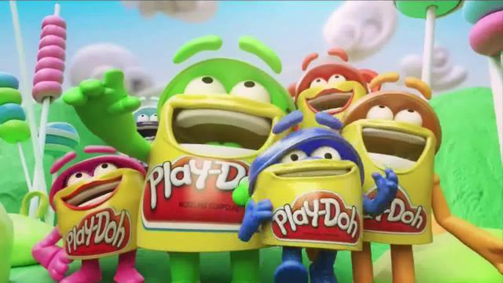 Cake Mountain Play Doh Commercial