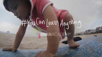 Khan Academy TV Spot, 'You Can Learn Anything'