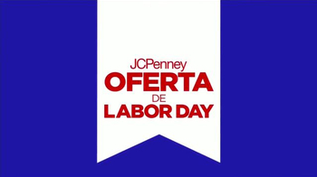 JC Penney Oferta De Labor Day TV Spot [Spanish]