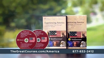 The Great Courses Experiencing America TV Spot, 'The Smithsonian'