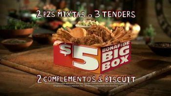 Popeyes $5 Bonafide Big Box TV Spot, [Spanish]