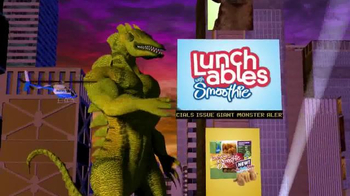 Lunchables with Smoothie Ka-bob-bles TV Spot, 'Giant Monsters'