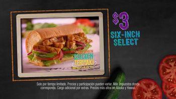 Subway Sweet Onion Chicken Teriyaki TV Spot, 'Subtember' [Spanish]