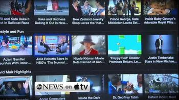 Apple TV Spot, 'ABC News on Apple TV'