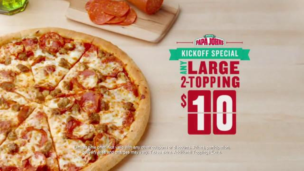 Papa John's offers a number of ways to save, including rewards programs and money-saving combo deals. You can save even more by using promo and coupon codes. Take Advantage of Papa John's Specials. Head to the homepage, where you'll find the latest Papa John.