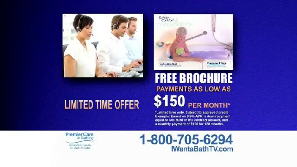 Premier Care TV Spot 39 I Want A Bath 39