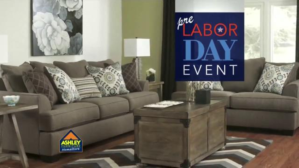 Ashley Furniture Homestore Pre Labor Day Event Tv Commercial 39 Ahorros 39 Spanish