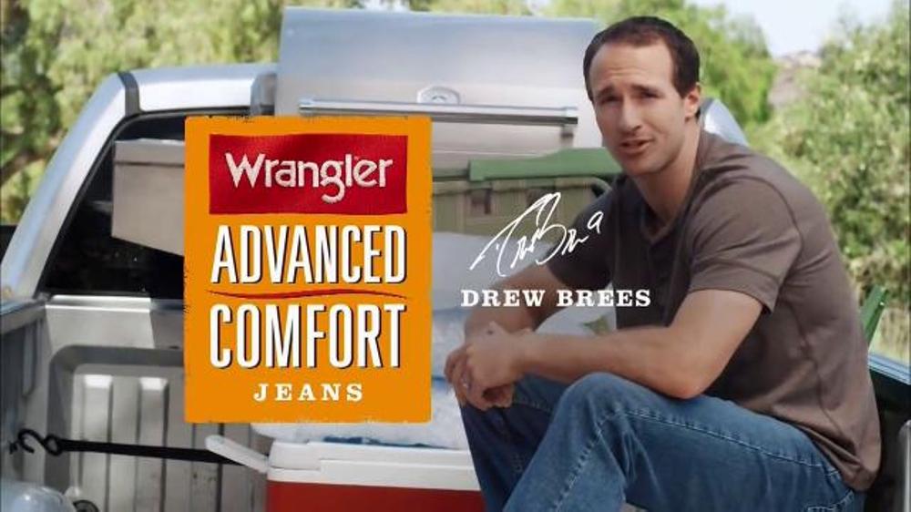 Wrangler Advanced Comfort Jeans TV Spot Featuring Drew Brees