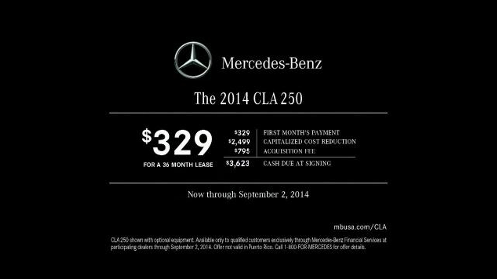 2014 mercedes benz cla 250 tv spot 39 this kind 39 for Mercedes benz winter event commercial
