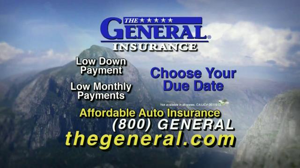 Elegant The General TV Commercial 39Low Down Payments39  ISpottv