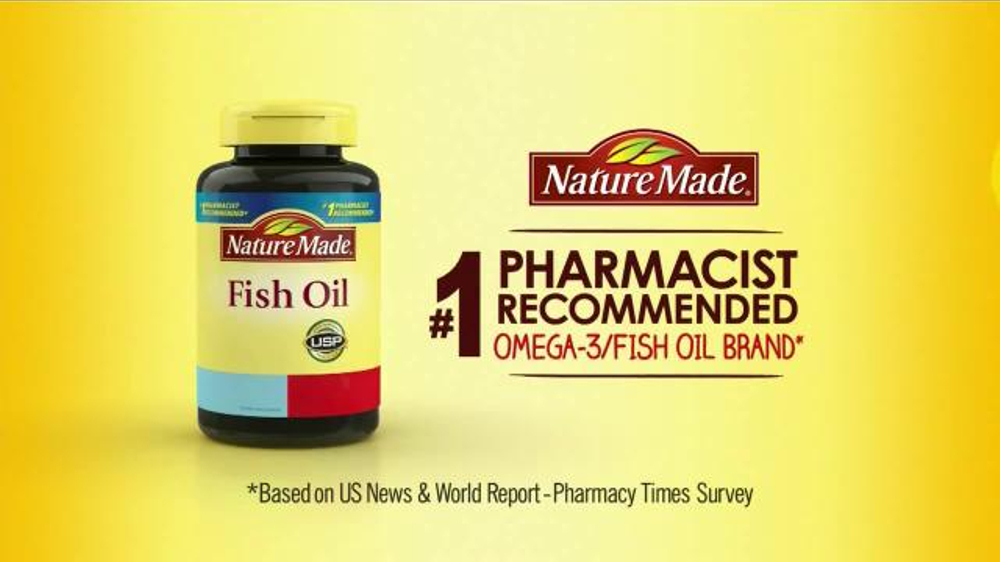 Nature made fish oil tv commercial 39 quality 39 for Quality fish oil