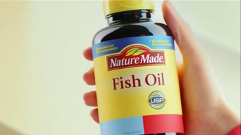 Nature made tv commercials for Quality fish oil
