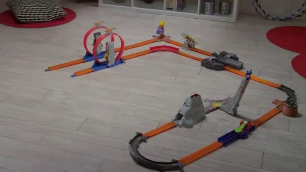 Hot Wheels Total Turbo Takeover >> Hot Wheels Track Builder Total Turbo Takeover TV Commercial, Song by Silverside - iSpot.tv