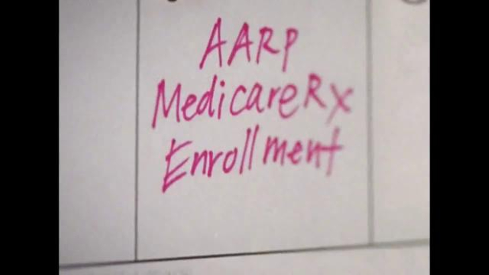UnitedHealthcare AARP Medicare Rx Plans TV Spot, 'Mark Your Calendars' - Screenshot 1