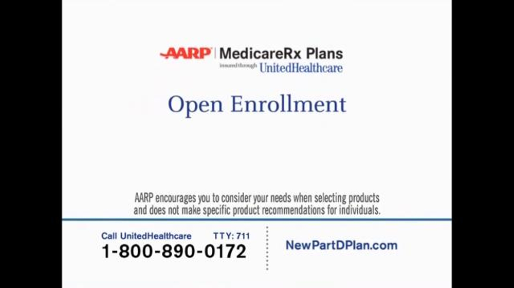 UnitedHealthcare AARP Medicare Rx Plans TV Spot, 'Mark Your Calendars' - Screenshot 3