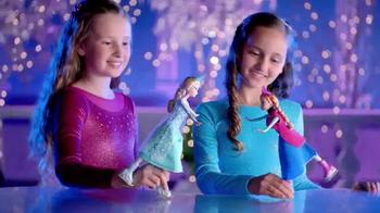 Frozen Ice Skating Anna and Elsa Dolls TV Spot thumbnail