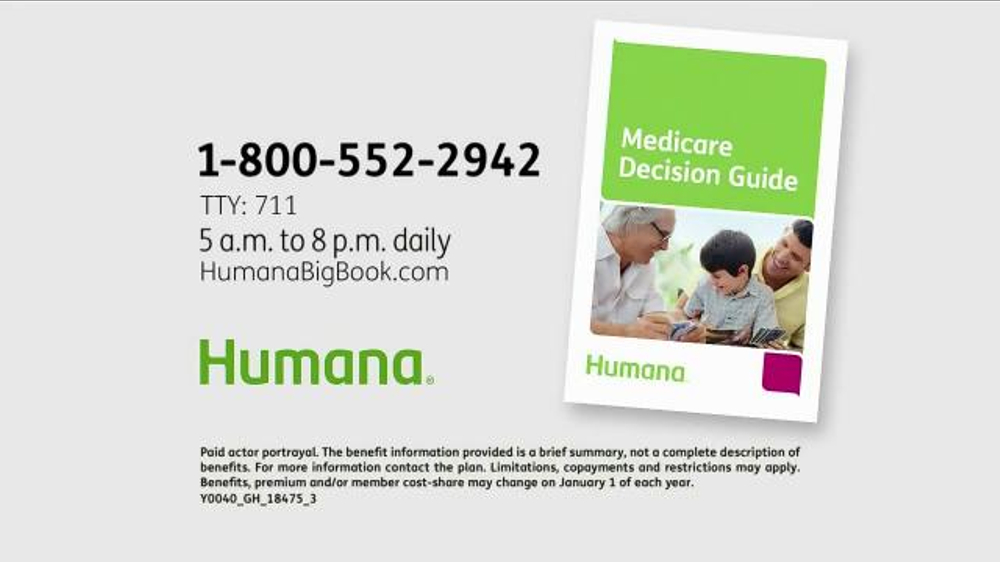 Humana Medicare Advantage Plan TV Spot, 'Big Book' - Screenshot 10