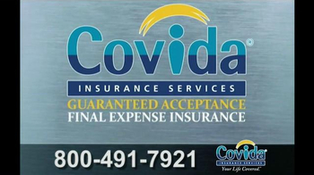 Covida Insurance Services TV Spot