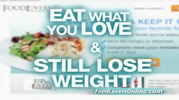 Food Lovers Online TV Spot, 'Eat What You Love'