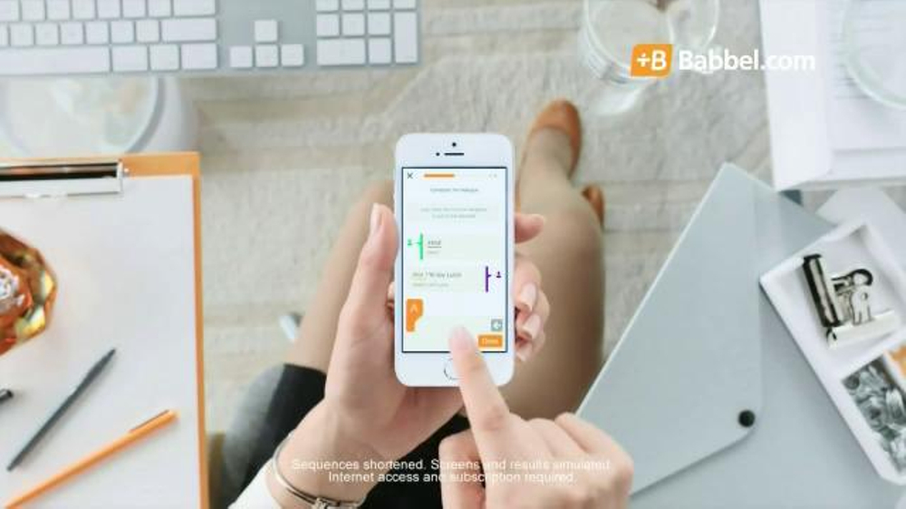 Babbel TV Spot, 'Learn on the Go'
