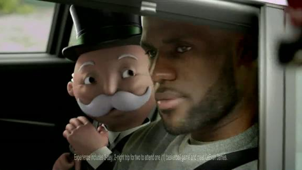 McDonald's Monopoly TV Spot, 'He's Back!' Featuring LeBron James
