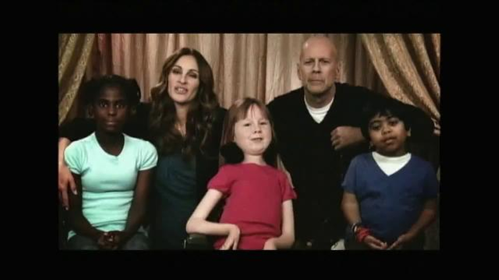 SeriousFun Children's Network TV Spot Featuring Bruce Willis, Julia Roberts