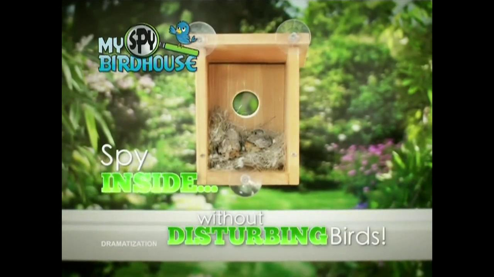 My Spy Birdhouse TV Spot - Screenshot 3