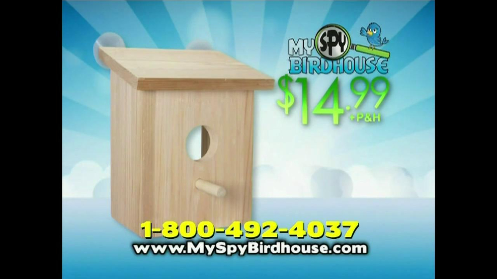 My Spy Birdhouse TV Spot - Screenshot 9