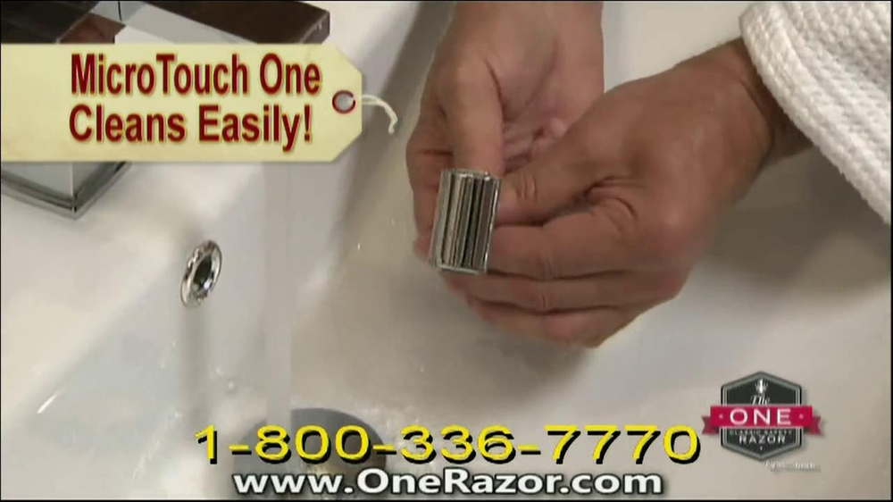 One Razor by Micro Touch TV Spot Featuring Rick Harrison - Screenshot 6