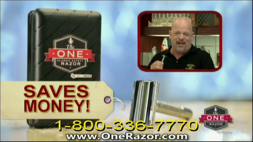 One Razor by Micro Touch TV Spot Featuring Rick Harrison - Screenshot 7