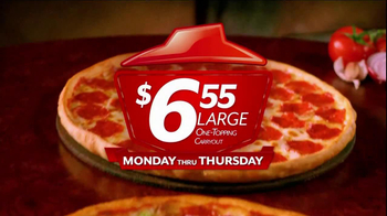 Pizza Hut $6.55 Large One-Topping Carryout TV Spot - Thumbnail 4