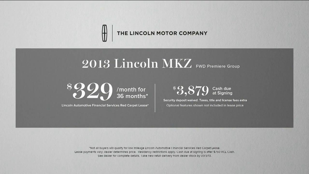 Lincoln MKZ TV Spot, 'Lincoln Concierge' - Screenshot 10