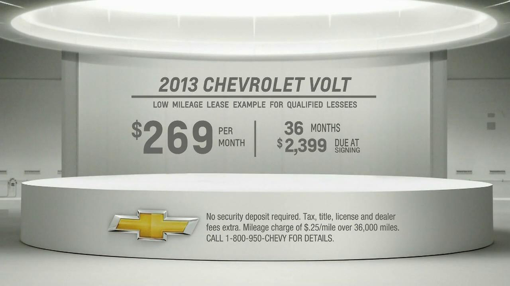 2013 Chevrolet Volt TV Spot, 'Backup Power' - Screenshot 10