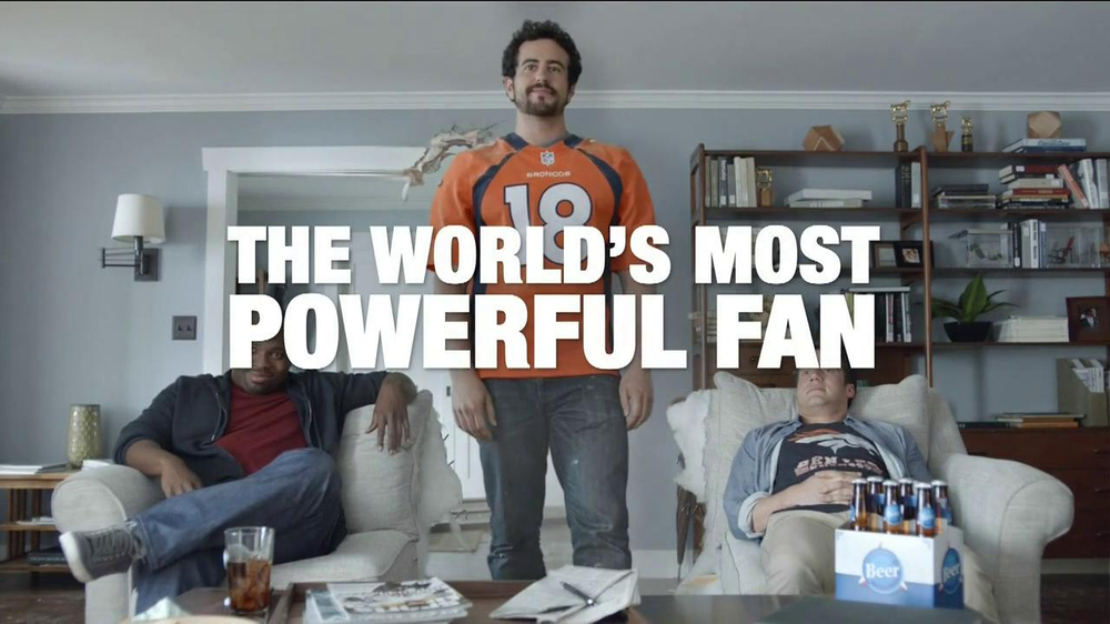 DirecTV TV Spot, 'The World's Most Powerful Fan' - Screenshot 10