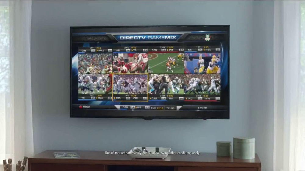 DirecTV TV Spot, 'The World's Most Powerful Fan' - Screenshot 4