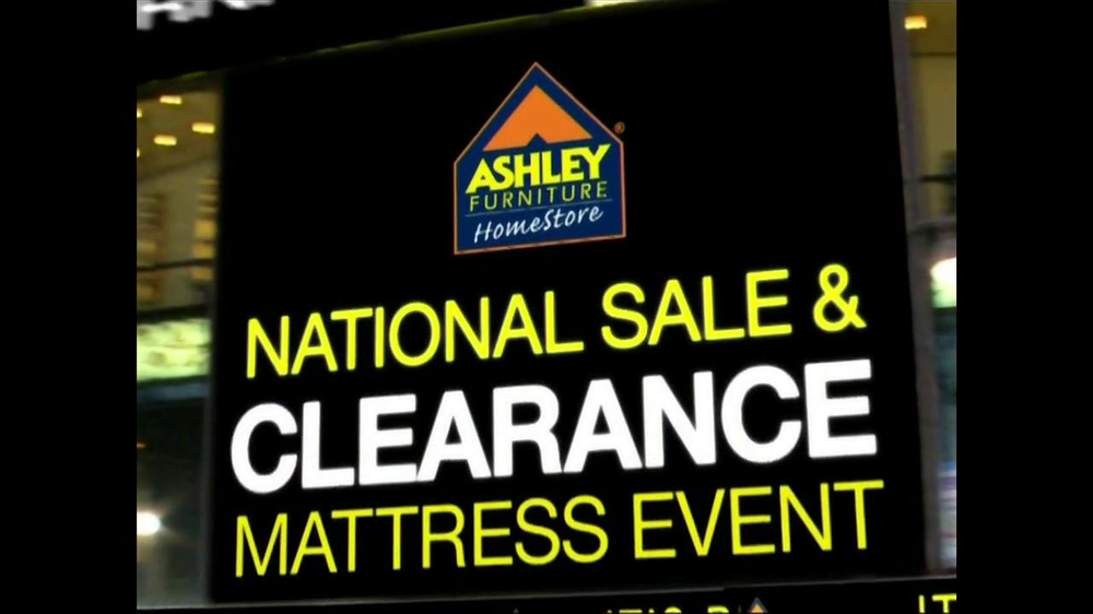 Ashley furniture national sale clearance event tv commercial 39 final week 39 Ashley home furniture weekly ad