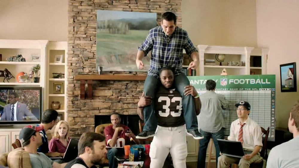 NFL Fantasy Football TV Spot, 'Carry to Victory' - Screenshot 4