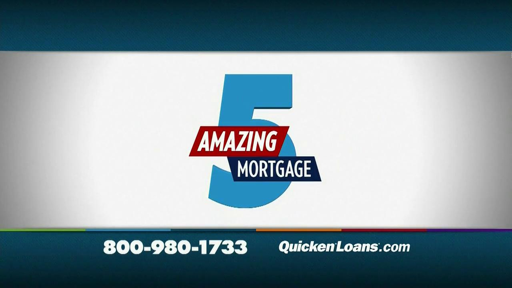 Quicken Loans TV Spot, 'Meet the Amazing 5 Mortgage' - Screenshot 5