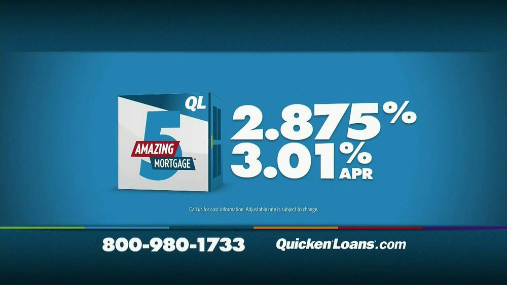 Quicken Loans TV Spot, 'Meet the Amazing 5 Mortgage' - Screenshot 8