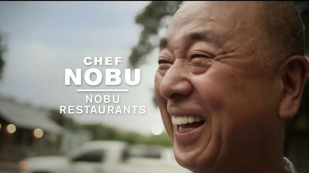 Chase Sapphire TV Spot Featuring Chef Nobu Matsuhisa - Screenshot 2