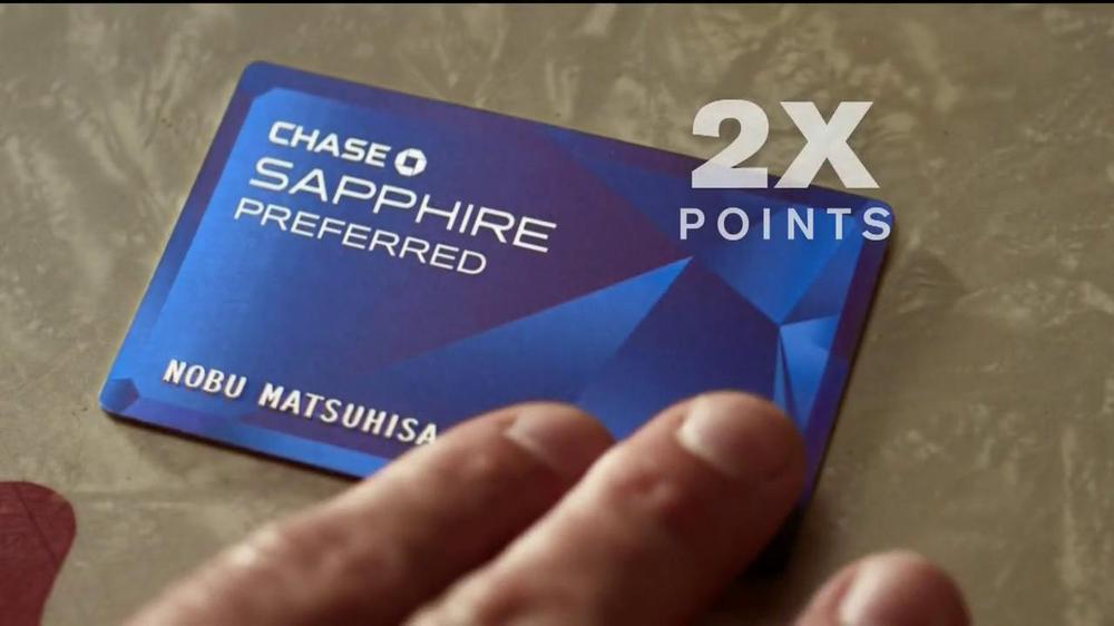 Chase Sapphire TV Spot Featuring Chef Nobu Matsuhisa - Screenshot 8