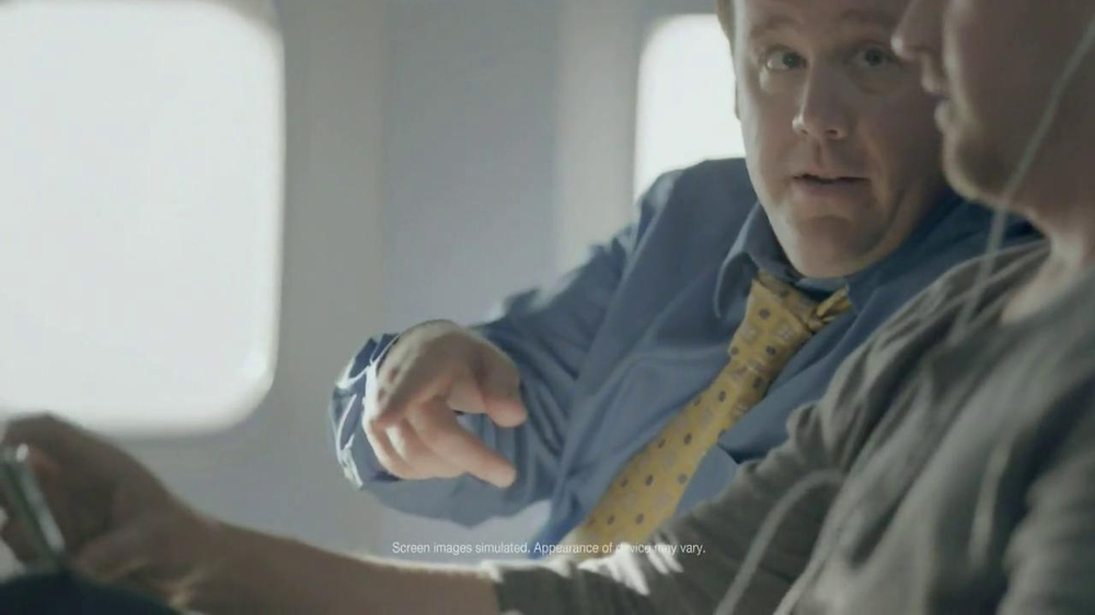 Samsung Galaxy S4 TV Spot, 'Airplane' - Screenshot 3