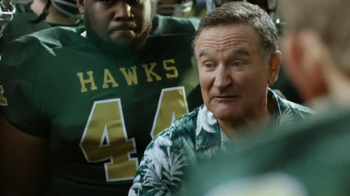 Snickers TV Spot, 'Football Coach' Featuring Robin Williams