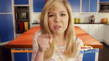 Nickelodeon TV Spot, 'Birds Eye Steamfresh' Featuring Jennette McCurdy