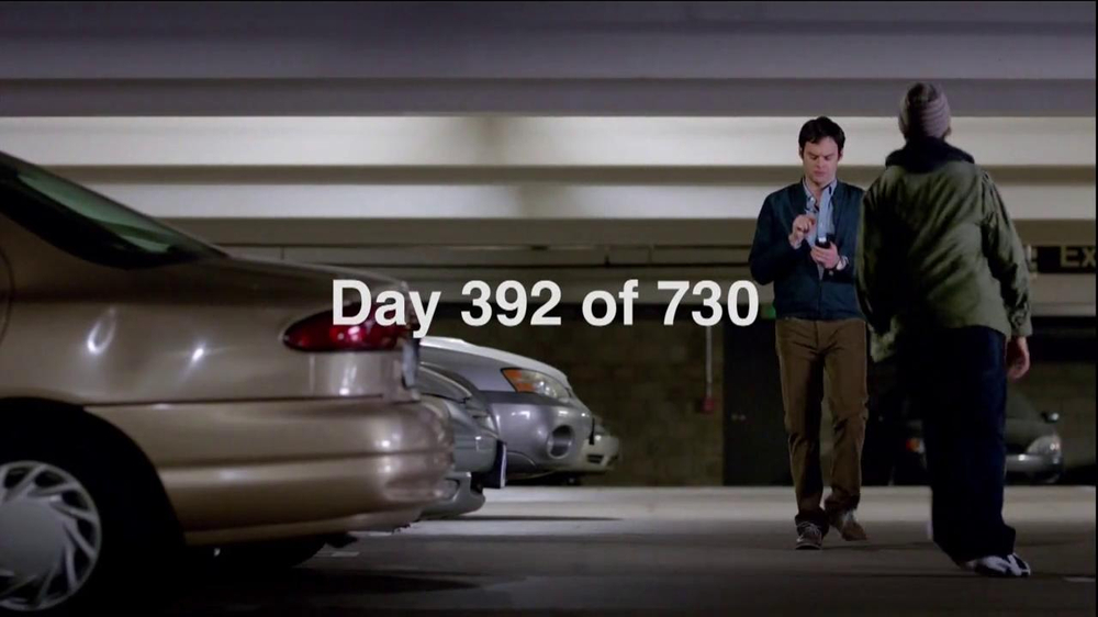 T-Mobile TV Spot, 'Day 392 of 730' Featuring Bill Hader - Screenshot 1